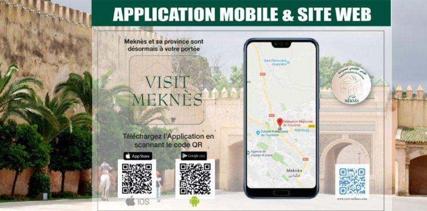 Le Conseil Prefectoral du Tourisme de Meknes Lance l'application mobile « VISITMEKNES »