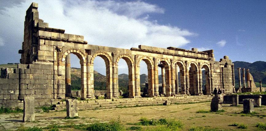 Site archéologique Volubilis Meknes