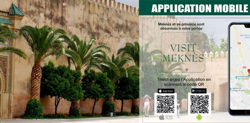 Communiqué de presse : Lancement de l'Application mobile « VISIT MEKNÈS »